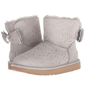 Ugg star girl bow bootie
